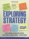 Gerry Johnson et Richard Whittington - Exploring Strategy - Text Only Plus eText and MyStrategyLab.