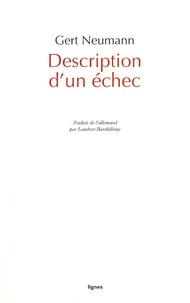 Gert Neumann - Description d'un échec.