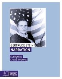 Gertrude Stein - Narration.