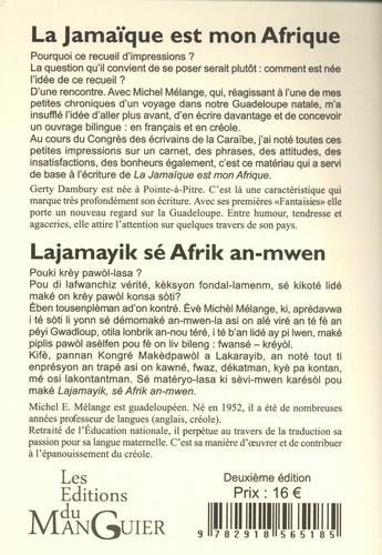 La Jamaïque est mon Afrique 2e édition