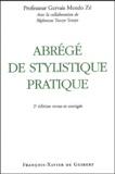Gervais Mendo Zé - Abrégé de stylistique pratique.