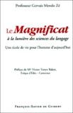 Gervais Mendo Zé - Le Magnificat à la lumière des sciences du langage - Une école de vie pour l'homme d'aujourd'hui.
