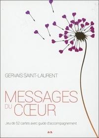 Messages du coeur- Jeu de 52 cartes avec guide d'accompagnement - Gervais Saint-Laurent |