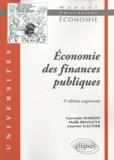 Gervasio Semedo et Malik Bensafta - Economie des finances publiques.