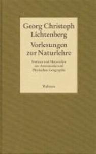 Gesammelte Schriften - Historisch-kritische und kommentierte Ausgabe 05. Vorlesungen zur Naturlehre - Notizen und Materialien zur Astronomie und Physischen Geographie.
