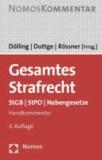 Gesamtes Strafrecht - StGB - StPO - Nebengesetze.
