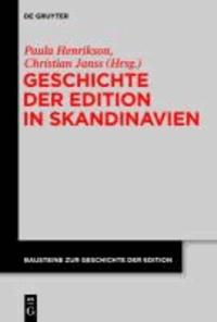 Geschichte der Edition in Skandinavien.