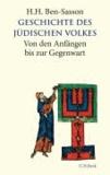 Geschichte des jüdischen Volkes - Von den Anfängen bis zur Gegenwart.