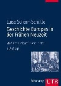 Geschichte Europas in der Frühen Neuzeit - Studienhandbuch 1500-1789.