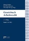 Gesetzbuch Arbeitsrecht - Stand: 01.10.2013.