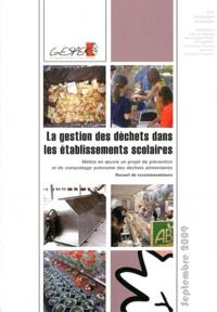 GESPER - Pack 3 guides gestion des déchets. 1 Cédérom