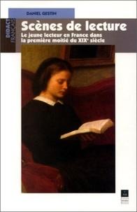 Gestin - Scènes de lecture - Le jeune lecteur en France dans la première moitié du XIXe siècle.