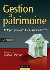 Gestion de patrimoine 2e édition - Format PDF - 9782100554713 - 35,99 €