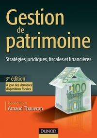 Gestion de patrimoine - Format PDF - 9782100572182 - 35,99 €