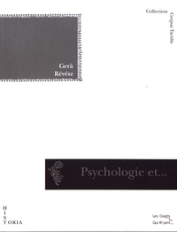 Géza Révész - Psychologie et art des aveugles.