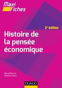 Ghislain Deleplace et Christophe Lavialle - Maxi fiches - Histoire de la pensée économique - 2e éd..