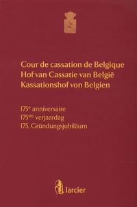 Ghislain Londers - Cour de cassation de Belgique - 175e anniversaire.