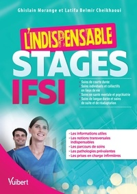 Ghislain Morange et Latifa Belmir Cheikhaoui - L'indispensable Stages IFSI.