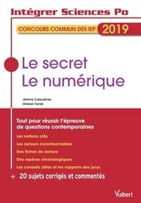 Ghislain Tranié et Jérôme Calauzènes - Le secret ; Le numérique.