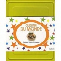 Ghislaine Benady et Minouche Pastier - Boite cuisine du monde - 3 Livres + 1 Boîte de conservation.