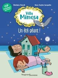 Ghislaine Biondi - Villa Mimosa 5 - Un été géant.