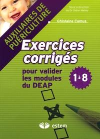 Exercices corrigés pour valider les modules du DEAP 1 à 8 - Auxiliaires de puériculture.pdf