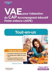 Ghislaine Camus - VAE pour l'obtention du CAP Accompagnement éducatif Petite enfance (AEPE) - Tout-en-un.