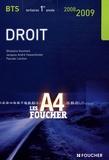 Ghislaine Guichard et Jacques-André Hassenforder - Droit BTS tertiaires 1e année.