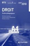 Ghislaine Guichard et Jacques-André Hassenforder - Droit BTS tertiaires 2e année.
