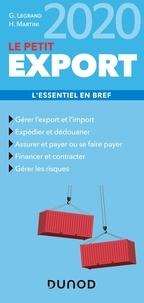 Ghislaine Legrand et Hubert Martini - Le petit export - L'essentiel en bref.