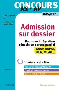 Ghyslaine Benoist - Concours AS/AP Spécial admission sur dossier et entretien - Entraînement.