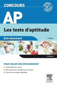 Ghyslaine Benoist - Entraînement concours AP - Les tests d'aptitude.