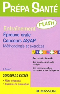 Satt2018.fr Entraînement Epreuve orale concours AS/AP. - Méthodologies et exercices, 3ème édition Image