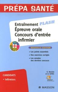Deedr.fr Entraînement Epreuve orale Concours d'entrée infirmier Image
