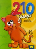 Gi.ma.g éditions - 210 Jeux éducatifs et amusants - De 3 à 5 ans.