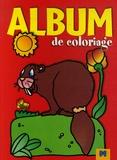 Gi.ma.g éditions - Album de coloriage Castor.
