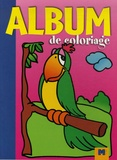 Gi.ma.g éditions - Album de coloriage Perroquet.