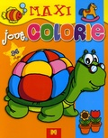 Gi.ma.g éditions - Joue colorie Tortue.