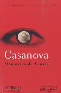 Giacomo Casanova - Mémoires de Venise.