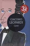 Giacomo Leopardi - Canti.