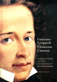 Giacomo Leopardi - Chansons (1824).