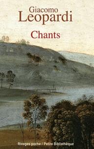 Giacomo Leopardi - Chants.