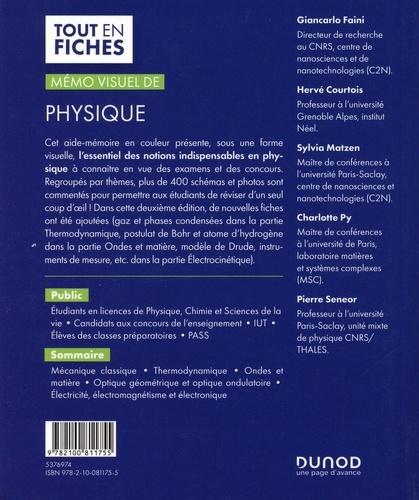 Mémo visuel de physique 2e édition