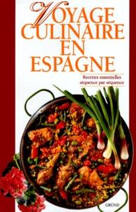 Giandomenico Frassi et Alessandra Avallone - Voyage culinaire en Espagne.