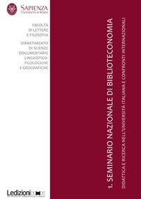 Gianfranco Crupi - 1. Seminario Nazionale di Biblioteconomia.
