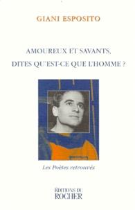 AMOUREUX ET SAVANTS, DITES QUEST-CE QUE LHOMME ? Textes et chansons.pdf