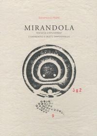 Gianpaolo Pagni - Mirandola - Tentative d'épuisement d'empreintes d'objets tamponnables.