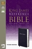 Giant-Print Personal Size Reference Bible-KJV.