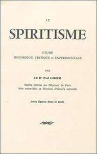 Gibier - Spiritisme.