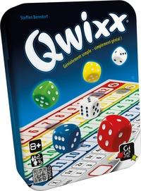 GIGAMIC - Jeu Qwixx - Nouveau format